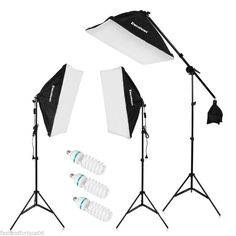 NEW 2000W Photo Studio LED Video Lighting Kit Backdrop Softbox Socket Stand+Lamp - http://cameras.goshoppins.com/lighting-studio/new-2000w-photo-studio-led-video-lighting-kit-backdrop-softbox-socket-standlamp/