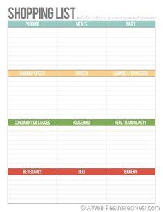 Free Printable Bi-Weekly Planner - Cute & Colorful ...