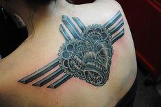 Metal Heart Tattoo metal heart tattoo (cover up) by brian ulrich . Chest Tattoo, I Tattoo, Black Heart Tattoos, Inked Magazine, Back Tattoos, Body Mods, Inspiration Tattoos, Tattoo Ideas, Tattoo Artists
