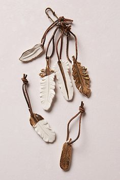 birds of a feather mini tie-ons (or use as ornaments!) #anthrofave