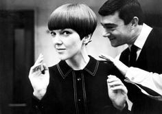 Vidal Sassoon and Mary Quant - those were the days...