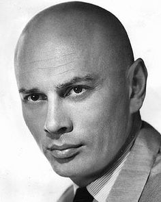 Yul Brynner. Great haircut.