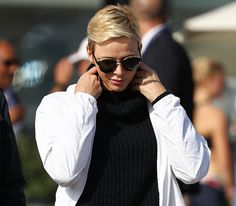 Princess Charlene of Monaco attended the 2016 World Rowing Coastal Championships
