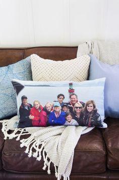 Custom Lumbar Canvas Pillow