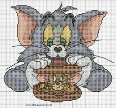 ENCANTOS EM PONTO CRUZ: Tom e Jerry