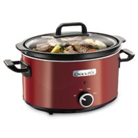 Slow Cooker 3.5L Red Crockpot, Slow Cooking, Chicken Breast Recipes Healthy, Healthy Recipes, Instant Pot, Russell Hobbs, Cocina Natural, One Dish Dinners, Green Beans And Tomatoes