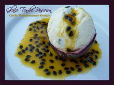 Glace Tendre Passion, Coulis Passionnément Orange Sorbets, Orange, Pudding, Passion, Desserts, Food, Pastries, Tarts, Grout