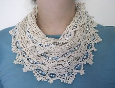 Includes both a written pattern and a partial chart for the edging. An advanced pattern, as it uses a large hook with thread for a lacy effect.