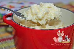 Arroz de queijo - Teretetê na Cozinha