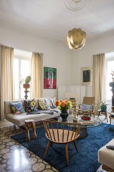 Liselotte Watkins och det ljuva livet i soliga Rom Interior Styling, Interior Decorating, Interior Design, Living Room Designs, Living Room Decor, Decoration Table, Interior Inspiration, Interior And Exterior, Furniture Design