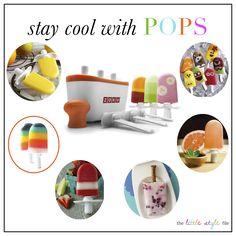 zoku & ice pop recipes!