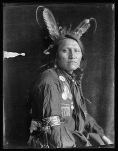 Charging Thunder, Sioux, 1900, Gertrude Kasebier