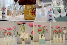 Vazinhos reciclados