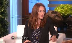 Getting real: The actress also revealed that her gorgeous red hair turned into a frizzy mess during summer Julianne Moore, Oscar Winners, Summer Hairstyles, True Stories, Red Hair, Celebrity, Actresses, Female, Film