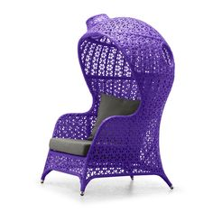 Kaya Club Chair Purple