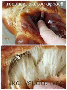 Greek Desserts, Party Desserts, Greek Recipes, Dessert Recipes, Tsoureki Recipe, Brioche Recipe, Sweet Bread, Pain, Hot Dog Buns