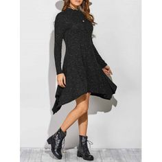 SHARE & Get it FREE | Cut Out Ribbed Asymmetrical DressFor Fashion Lovers only:80,000+ Items·FREE SHIPPING Join Dresslily: Get YOUR $50 NOW!