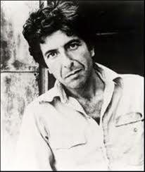 Leonard Cohen, singer/songwriter