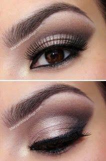 Wedding Ideas: Nice make-up for brown eyed girls pinmakeuptips.com...