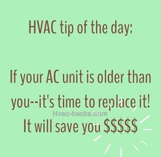 Tip of the day—» Busted HVAC Equipment is no laughing matter. —» When you need serious help - Affordable Home Comfort is just a click away: www.advancedheatandairnj.com #LOL #HVAC