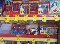 Spotted In-Store: Walgreens Wonder Woman Beauty Collection (Makeup, Nail Polish, Bags & Hair Accessories) | Nouveau Cheap