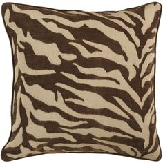 Chocolate Zebra is a must have- mix with solid earth tone colored pillows