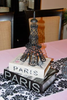 1000+ images about Paris Themed Baby Shower on Pinterest ...