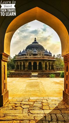 Isa Khan Tomb, Delhi, India Travel photography Architecture Backpacking Photographer Incredible India