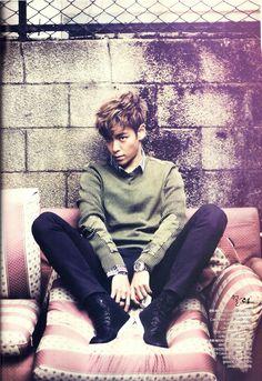 Big Bang TOP - Harper's Bazaar Magazine December Issue '11