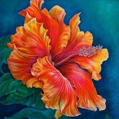 We've gathered our favorite ideas for Painting Hibiscus Fever Private Collection Original, Explore our list of popular small living room ideas and tips including Painting Hibiscus Fever Private Collection Original. Acrylic Painting Flowers, Silk Painting, Watercolor Flowers, Painting & Drawing, Watercolor Paintings, Flower Canvas, Flower Art, Small Canvas Art, Tropical Art