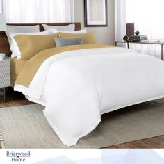 Choose between a Fitted Sheet and two Pillowcases or opt for the more traditional route with a Fitted Sheet, Top Sheet and two Pillowcases at #BriarwoodHome  #Percale  #Percalesheets #Percalesheetsets #PercaleSheetSetsInNewYork #PercaleSheetSetsInNewJersey #PercaleSheetSetsInMaryland