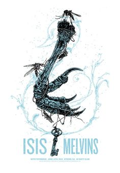 justin kamerer (aka angryblue) Isis / Melvins