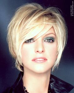 latest medium haircuts hairstyles that make you look 10 years younger 10 years 5568 | cbbba9d6caa8ffbca5568f479c7278d7 graduated bob cut shorts