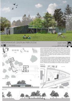 Studentský projekt. ZS 2013/2014. FSv ČVUT v Praze. Floor Plans, School, Atelier, Floor Plan Drawing, House Floor Plans