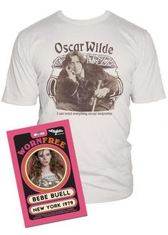 99a9694f This licensed Bebe Buell T-shirt is custom made from the softest, prewashed  and shrunk cotton jersey for a lasting fit. Worn Free faithfully reproduces  ...