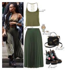 """""""Leigh-anne by BBC Radio 1"""" by leigh-jena ❤ liked on Polyvore featuring Topshop, Cartier and Aspinal of London"""