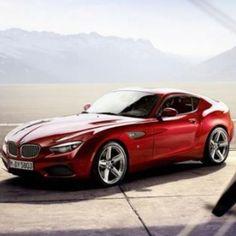 Red BMW Zagato Coupe