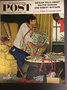 December 19th,1959 Saturday Evening Post Cover - Artist Dick Sargent https://www.etsy.com/listing/575514171/december-19th1959-saturday-evening-post?utm_campaign=crowdfire&utm_content=crowdfire&utm_medium=social&utm_source=pinterest