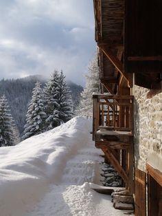 Luxury Ski Chalet Tour blog.potterybarn.com -