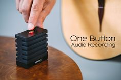 One-button audio recording in studio-quality. For musicians, filmmakers, bloggers and skypers. | Crowdfunding is a democratic way to support the fundraising needs of your community. Make a contribution today!