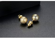 Alloy Simple Geometric earring(5mm-T01G20) NHTM0459-5mm-T01G20