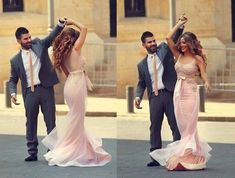 2016 Pink Mermaid Prom Dresses Sleeveless Pearls with Bow Sash Formal Evening Gowns Prom Picture Poses, Prom Poses, Picture Ideas, Homecoming Poses, Senior Prom, Straps Prom Dresses, Beaded Prom Dress, Dress Prom, Hoco Dresses