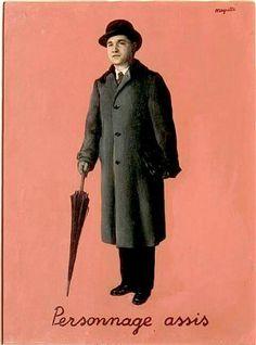 """René Magritte, """"Le bon exemple"""", 1953. Un tableau indispensable aujourd'hui, pour une journée sans pépin."""
