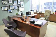 Rachel Zane's Office Wall - love this!
