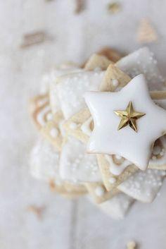 Star cookies stars sweets cookies dessert holidays christmas