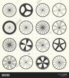 Resultado de imagen para rin de bicicleta vector