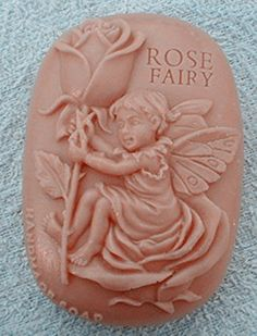 Creativemoldstore 1pcs Rose Fairy (zx770) Craft Art Silicone Soap Mold Craft Molds DIY Handmade Soap Molds * You can find out more details at the link of the image.