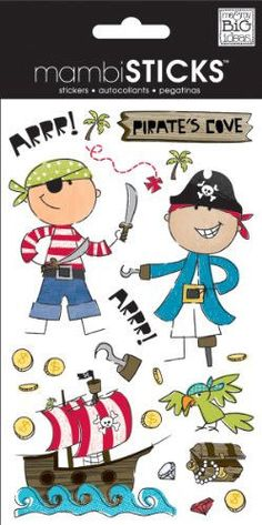 me and my big ideas pirate wall stickers - Buscar con Google