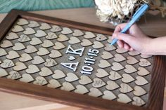 Drop box, Wedding Guest book, Guest Book Frame, Heart Guest book, Guestbook Picture, Wooden Guest book,  Personalized Guest book by woodlack on Etsy https://www.etsy.com/listing/255371237/drop-box-wedding-guest-book-guest-book