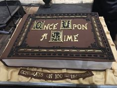 """""""Once Upon A Cake"""" 13th Birthday, 13 Birthday Cake, Birthday Parties, Bithday Cake, Movie Cakes, Once Upon A Time, Emilie De Ravin, Outlaw Queen, Ouat"""